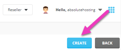 absolutehosting.co.za directadmin create new login key button