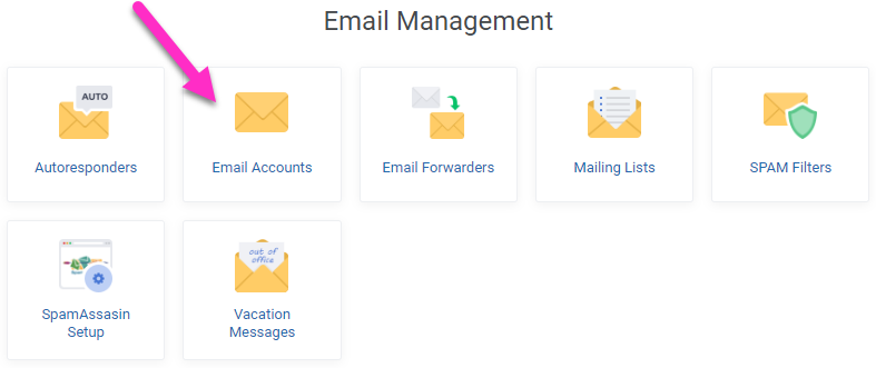 Email Only Hosting - Create Email Accounts