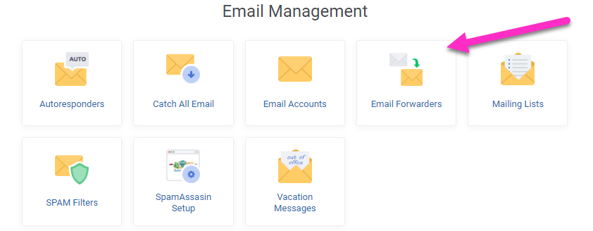 absolutehosting.co.za - email forwarders