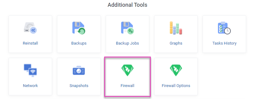 absolutehosting.co.za - vps additional tools firewall